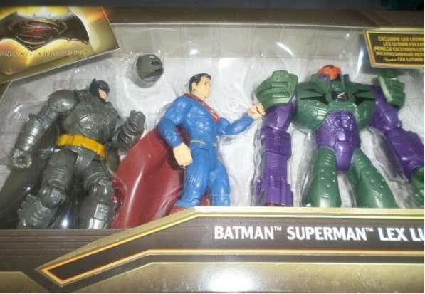 Игровой набор Mattel Супермен против Лекса Mattel