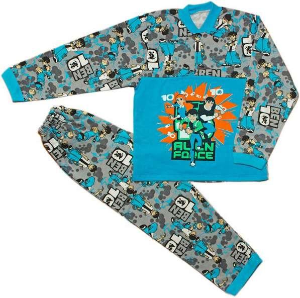 Пижама детская на 2 кнопках для мальчика