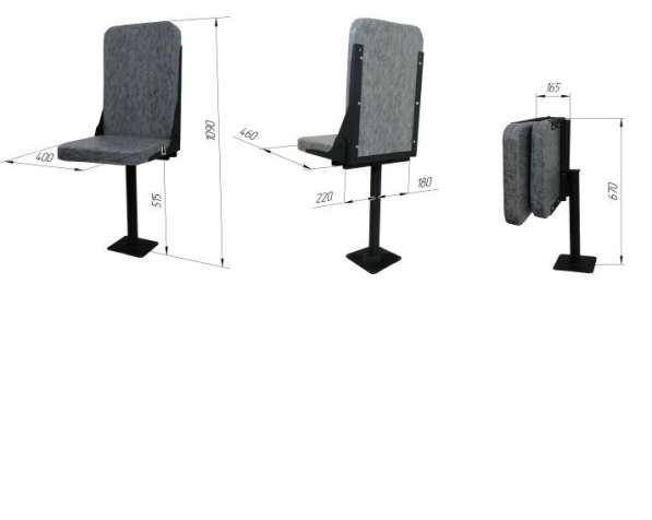Продам кресло крановое серии КР-1 недорого