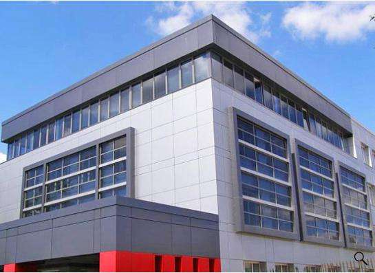 Монтаж вентилируемых фасадов из композитных панелей