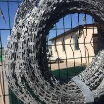 Колючая лента СББ 500*50*5 мм. для 3Д забора, бухта 17 м., в Краснодаре