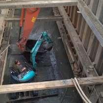 Крепление котлованов траншей шпунтом методом вибропогружения, в Екатеринбурге