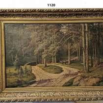 Две картины 19-го века Русского художника Платонова С. С, в Санкт-Петербурге