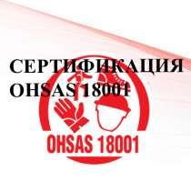 Сертификат соответствия ohsas 18001 для Воронежа, в Воронеже