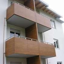 Фасадные листовые панели и плиты HPL вентфасадов и балконов, в Москве