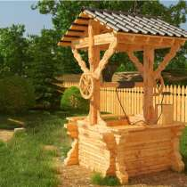 Изготавливаем деревянные колодцы, в Ростове-на-Дону