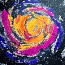 Картина акрилом Галактический водоворот, в г.Витебск