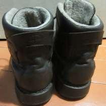 Зимние фабричные кожаные ботинки, в Калининграде