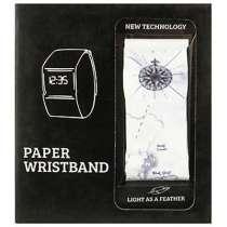 Бумажные часы Paper Watch Wristband в розницу и оптом, в Москве