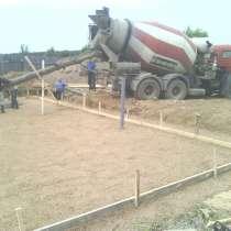 Фундамент, отмостка, монолит, бетонные работы, в Сергиевом Посаде