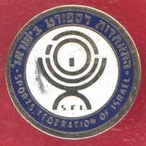 Израиль фрачный знак Спортивная федерация Израиля SFI, в Орле