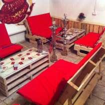 Мебель для кальянной на заказ, в Москве