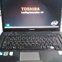 Toshiba Satellite A300-27W рабочий ноутбук, в г.Москва