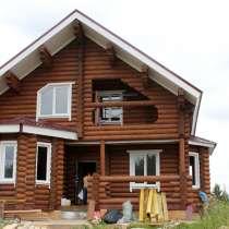 Дома из оцилиндрованного бревна в Рассрочку, в Уфе