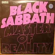 Пластинка виниловая Black Sabbath - Master Of Reality, в Санкт-Петербурге