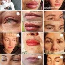 Перманентный макияж всех зон лица, в Волгограде