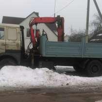 Продается МАЗ 53366 с гидроманипулятором HEAB, в г.Минск
