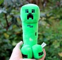 Мягкая игрушка Крипер из Майнкрафт, в Перми