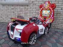Аттракцион, качалка машинка с играми, в Москве