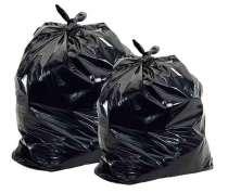 Продам большие мешки, пакеты черного цвета из полиэтилена, в Красноярске