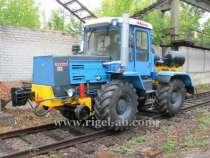 Локомобиль КРТ-1 и Универсальная путевая машина УПМ-1, в г.Актау
