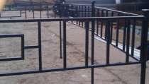 Металлические ритуальные ограды, в Курске