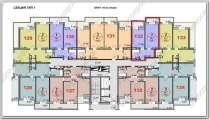 1 комнатная квартира ЖК, в Анапе