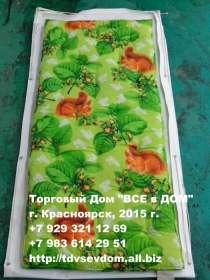 МАТРАС ватный 70х190х7см. Наполнитель новая Х/Б вата, в Красноярске