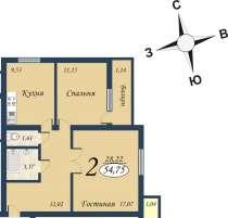 Продам 2-комнатную квартиру, в Тюмени