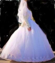 Свадебное белое платье, в г.Донецк