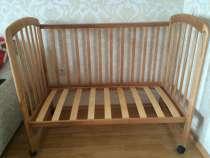 Детская деревянная кроватка, в г.Астана