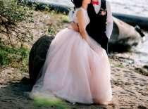 Свадебное платье пудрового цвета, в г.Гомель