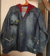 Джинсовый пиджак на подростка., в Челябинске