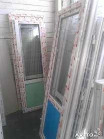 Новые двери ПВХ балконные, в Омске