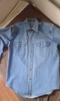 Джинсовая рубашка, в г.Черногорск