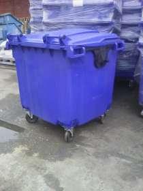 Пластиковый Евроконтейнер 1100 литров, в Краснодаре