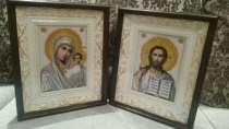 Продам иконы и картины вышитые бисером, в Воронеже