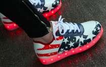 Модные LED кроссовки с подсветкой подошвы, в г.Киев
