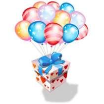 Доставка воздушных шаров по городу и области, в Мурманске