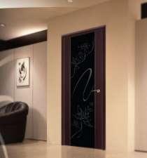 Дверь межкомнатная LUIDOOR Альмека черный дуб, в Новосибирске