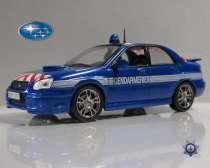 полицейские машины мира №4 SUBARU IMPREZA полиция франции, в Липецке