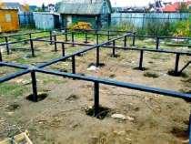 Фундаменты на винтовых сваях., в Костроме