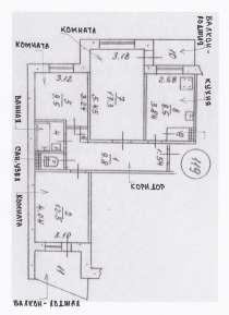 3-х комнатная квартира на Бела Куна, в г.Симферополь