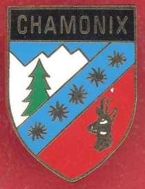 Фрачник герб г. Шамони Мон Блан Франция, в Орле