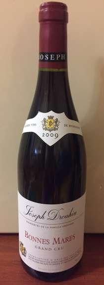 Вино Bonnes-Mares Grand Cru, 2009, в г.Николаев