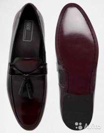 Новые, кожаные, полированные, темновишневые туфли, в Краснодаре