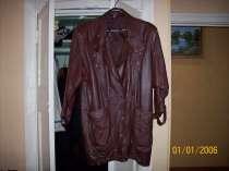 Кожаная куртка женская, в Брянске