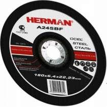 Абразивный отрезной круг HERMAN EXPERT 180х1,8х22,23мм, в Москве