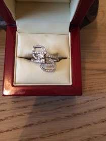 Оригинальное бриллиантовое кольцо, в Москве