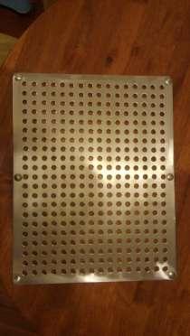 Изготовление вентиляционных и сливных решеток из нержавейки, в Краснодаре